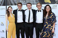 LOS ANGELES - SEP 28:  Amber Laird, William Karr, Ben Gail, Carter Feuerhelm, Emma Wood at the 2019 Catalina Film Festival - Saturday at the Catalina Bay on September 28, 2019 in Avalon, CA