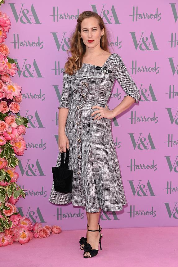 Charlotte Dellal<br /> arriving for the V&A Summer Party 2018, London<br /> <br /> ©Ash Knotek  D3410  20/06/2018