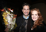 Kate Baldwin &amp; Graham Rowat attending the closing night performance After Party for the NY City Center ENCORES! production of  &quot;Finian's Rainbow&quot;  at  City Center in New York City.<br />March 29, 2009