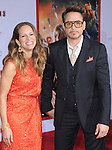 Robert Downey Jr. and Susan at The World Premiere of Marvel's Iron Man 3 held at The El CapitanTheatre in Hollywood, California on April 24,2013                                                                   Copyright 2013 Hollywood Press Agency