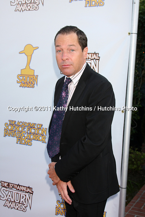 LOS ANGELES - JUN 23:  French Stewart arriving at the 2011 Saturn Awards  at Castaways on June 23, 2011 in Burbank, CA