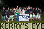 celebration<br /> -------------<br /> Killarney Celtic U18 celebrate after beating Tralee's  Park 4-3 in the Musnter Junior Cup final last friday night at Mounthawk