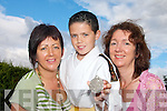FIGHTING FIT; Killorglin judo star Jesse McCormick who won a silver medal at the National Community Games Finals in Mosney last week. He is pictured with his coach, Eugene Cotter.FIGHTING FIT; Killorglin judo star Jesse McCormick who won a silver medal at the National Community Games Finals in Mosney last week. He is pictured with his mother Teresa and Mary Rafferty  (PRO Killorglin Community Games).   Copyright Kerry's Eye 2008