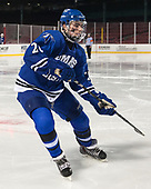 Mike Thomson (UMB - 20) - The UMass Boston Beacons defeated the Babson College Beavers 5-1 on Thursday, January 12, 2017, at Fenway Park in Boston, Massachusetts.