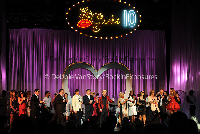 The Cast of Les Girls 10 at the Les Girls 10th Annual Cabaret fundraiser for National Breast Cancer Coalition Fund -NBCCF- held at Avalon in Hollywood, California on October 04,2010                                                                               © 2010 Debbie VanStory / RockinExposures