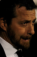 Fulham manager, Slavic Jokanović seen during the Sky Bet Championship match between Fulham and Sheff United at Craven Cottage, London, England on 6 March 2018. Photo by Carlton Myrie.