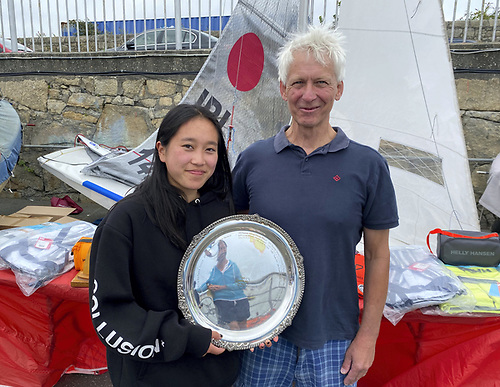 Irish Fireball Championships - Silver Fleet Winners, Clodagh Nash & Glen Fisher
