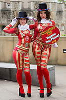 PETA Beefeaters at the Tower of London