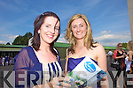 Aine Lynch and Anne Maria NcEnery from Ballybunion at Listowel Races on Sunday.