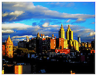 Upper West Side Skyline with the Museum of Natural History from a 79th Street Rooftop.