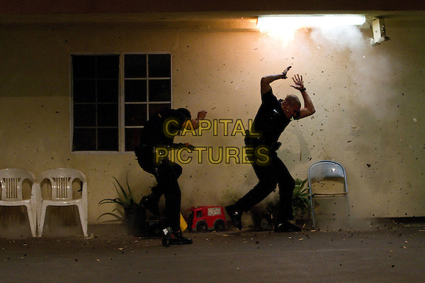 MICHAEL PENA, JAKE GYLLENHAAL.in End of Watch (2012).*Filmstill - Editorial Use Only*.CAP/FB.Supplied by Capital Pictures.