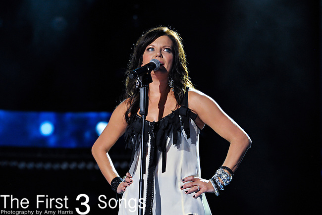 Martina McBride performs at LP Field during the 2012 CMA Music Festival on June 10, 2011 in Nashville, Tennessee.