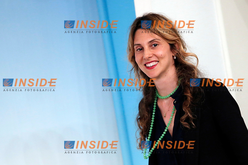 Marianna Madia<br /> Roma 15-06-2016  Palazzo Chigi. Consiglio dei Ministri, CDM.<br /> Rome 15th June 2016. Press conference at the end of Minister's cabinet<br /> Photo Samantha Zucchi Insidefoto