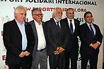 XIV Sopar Solidari de Nadal.<br /> Esport Solidari Internacional-ESI.<br /> Josep Maldonado &amp; directius del Sant Andreu.
