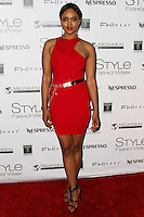 LOS ANGELES, CA, USA - MARCH 10: Sharon Leal at the Style Fashion Week LA 2014 7th Season held at L.A. Live Event Deck on March 10, 2014 in Los Angeles, California, United States. (Photo by Xavier Collin/Celebrity Monitor)