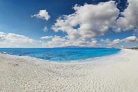 Sahara beach of Naxos island in Cyclades, Greece