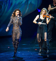 LAS VEGAS, NV - December 1 : Shania Twain  'Still The One' residency show opening night at The Colosseum at Caesars Palace on December 1, 2012 in Las Vegas, Nevada.  Credit: Kabik/Starlitepics/MediaPunch Inc.