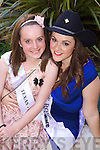 Texas rose Adrienne Hussey with Rosebud Kate Sheehy at the Carlton Hotel, Tralee on Friday.