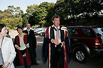 Jeremy Clarskon arriving at  Headington Hill Hall on the day of  his acceptance of his Honorary degree. Moments later he was pied a protester who was against the  giving of his honorary degree
