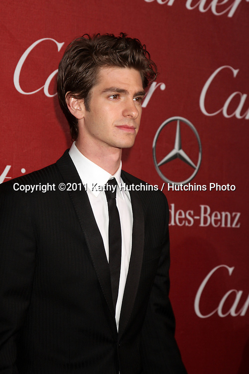 LOS ANGELES - JAN 8:  Andrew Garfield arrives at the Palm Springs International FIlm Festival 2011 Awards Gala at Palm Springs Convention Center on January 8, 2011 in Pal Springs, CA.