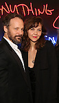 Peter Sarsgaard and Maggie Gyllenhaal attends the opening night performance of 'Sunday in the Park with George' at the Hudson Theatre on February 23, 2017 in New York City.