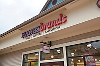 A Hanesbrands store is pictured at the Settlers' Green Outlet Village in North Conway, New Hampshire Thursday June 13, 2013.