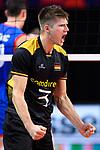 13.09.2019, Paleis 12, BrŸssel / Bruessel<br />Volleyball, Europameisterschaft, Deutschland (GER) vs. Serbien (SRB)<br /><br />Jubel Ruben Schott (#3 GER)<br /><br />  Foto © nordphoto / Kurth