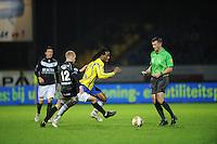 VOETBAL: LEEUWARDEN: Cambuur Stadion, 10-05-2012, SC Cambuur - VVV, Nacompetitie, Eindstand 0-0, Ismo Vostermans (#12), Charles Dissels (#7), ©foto Martin de Jong
