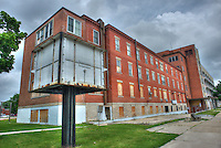 Sarnia General Hospital sits vacant. Mitton Street and George Street