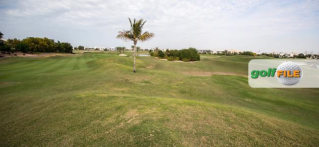 12th and 16th fairways at The Address Montgomerie Golf Club, Dubai, United Arab Emirates.  27/01/2016. Picture: Golffile | David Lloyd<br /> <br /> All photos usage must carry mandatory copyright credit (&copy; Golffile | David Lloyd)