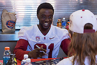 Stanford, CA. April 11, 2015. Stanford Football Cardinal and White Spring Game. White won over Cardinal 23-7.