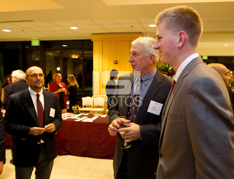 Stanford Athletics Hall of Fame, event on November 11, 2011, at the Alumni Center.  ( Norbert von der Groeben )