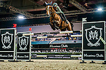 Emanuele Gaudiano of Italy riding Galileo 139 at the the Massimo Dutti Trophy during the Longines Hong Kong Masters 2015 at the AsiaWorld Expo on 15 February 2015 in Hong Kong, China. Photo by Juan Flor / Power Sport Images
