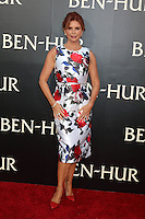 "HOLLYWOOD, CA - AUGUST 16: Roma Downey at the LA Premiere of the Paramount Pictures and Metro-Goldwyn-Mayer Pictures title ""Ben-Hur"", at the TCL Chinese Theatre IMAX on August 16, 2016 in Hollywood, California. Credit: David Edwards/MediaPunch"