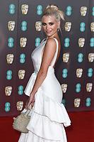 Pixie Lott<br /> arriving for the BAFTA Film Awards 2020 at the Royal Albert Hall, London.<br /> <br /> ©Ash Knotek  D3554 02/02/2020
