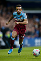 Ryan Fredericks of West Ham United during the Premier League match between Everton and West Ham United at Goodison Park on October 19th 2019 in Liverpool, England. (Photo by Daniel Chesterton/phcimages.com)<br /> Foto PHC/Insidefoto <br /> ITALY ONLY