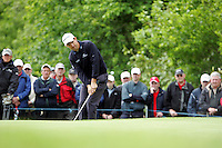 Padraig Harrington chips onto the 12th green during the third round of the Irish Open on 19th of May 2007 at the Adare Manor Hotel & Golf Resort, Co. Limerick, Ireland. (Photo by Eoin Clarke/NEWSFILE)...
