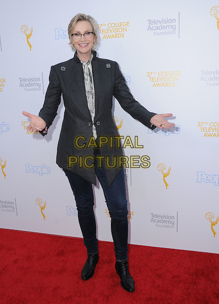 25 May 2016 - Los Angeles, California - Jane Lynch. Arrivals for the 37th College Television Awards held at Skirball Cultural Center. <br /> CAP/ADM/BT<br /> &copy;BT/ADM/Capital Pictures