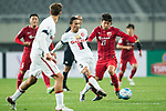 Shanghai FC Midfielder Yu Hai (R) in action against Sydney Wanderers Defender Brendan Hamill (L) during the AFC Champions League 2017 Group F match between Shanghai SIPG FC (CHN) vs Western Sydney Wanderers (AUS) at the Shanghai Stadium on 28 February 2017 in Shanghai, China. Photo by Marcio Rodrigo Machado / Power Sport Images