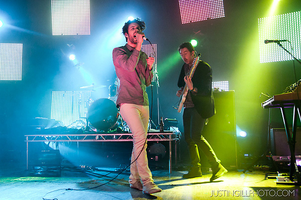 Live concert photo of Passion Pit @ Congress Theater Chicago by http://www.justingillphoto.com