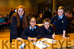 St. Oliver's NS Killarney, Lauren Tucker, Benjamin Gaughran, Teddy Muldoon and Tia McNabb at the Chapter 23 Credit Union Table Quiz at Ballyroe Heights Hotel on Sunday
