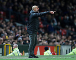 Josep Guardiola manager of Manchester City points  during the Carabao Cup match at Old Trafford, Manchester. Picture date: 7th January 2020. Picture credit should read: Darren Staples/Sportimage