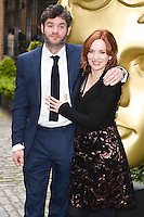 Harry Peacock and Katherine Parkinson<br /> arrives for the BAFTA TV Craft Awards 2016 at the Brewery, Barbican, London<br /> <br /> <br /> ©Ash Knotek  D3109 24/04/2016