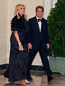 Howard Kessler, Founder and Chairman Emeritus of The Kessler Group, and Michelle Kessler arrive for the State Dinner hosted by United States President Donald J. Trump and First lady Melania Trump in honor of Prime Minister Scott Morrison of Australia and his wife, Jenny Morrison, at the White House in Washington, DC on Friday, September 20, 2019.<br /> Credit: Ron Sachs / Pool via CNP