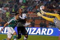 sAO PAULO, SP 12 JULHO 2013 - PALMEIRAS X ABC - RN - O jogador Mendieta durante lance da partida de Palmeiras x ABC - RN, no Estádio do Pacaembú, em São Paulo. foto: Paulo Fischer/Brazil Photo Press.