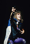Live photographs and portrait of the band, Bon Jovi.
