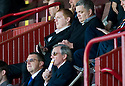 :: CELTIC MANAGER NEIL LENNON WATCHES FROM THE STAND AT FIR PARK ::
