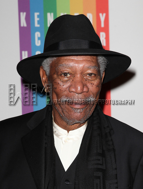 Morgan Freeman attending the 35th Kennedy Center Honors at Kennedy Center in Washington, D.C. on December 2, 2012
