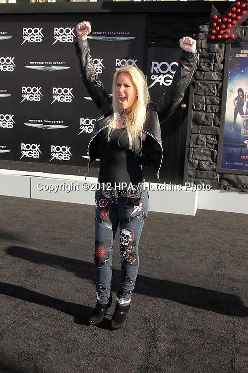"""LOS ANGELES - JUN 8:  Lira Ford arriving at """"Rock of Ages"""" World Premiere at Graumans Chinese Theater on June 8, 2012 in Los Angeles, CA"""