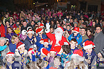 Santa arrives in Killorglin on Sunday